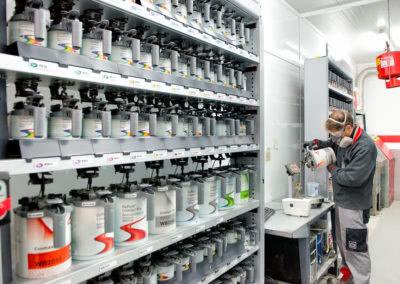 laboratorio pintura